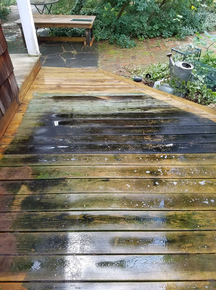 Deck Cleaning Amazing Pro Wash